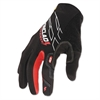 Touchscreen Gloves, Black/Red, Large