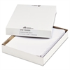 Office Essentials Index Dividers w/White Labels, 9 3/4 x 11 1/2, 8-Tab, 25 Sets