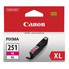 Canon 6450B001 (CLI-251XL) ChromaLife100+ High-Yield Ink, Magenta