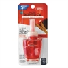 BRIGHT Air Electric Scented Oil Air Freshener Refill, Macintosh Apple and Cinnamon, 12/Ctn
