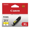 Canon 6451B001 (CLI-251XL) ChromaLife100+ High-Yield Ink, Yellow
