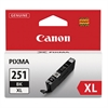 Canon 6448B001 (CLI-251XL) ChromaLife100+ High-Yield Ink, Black