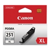 Canon 6452B001 (CLI-251XL) ChromaLife100+ High-Yield Ink, Gray