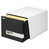 Bankers Box STOR/DRAWER Premier Extra Space Savings Storage Drawers, Letter, Black, 5/Carton
