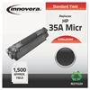 Innovera Remanufactured CB435A(M) (35AM) MICR Toner, Black