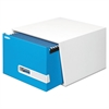 STOR/DRAWER Premier Extra Space Savings Storage Drawers, Legal, Blue, 5/Carton