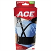 "ACE Work Belt with Removable Suspenders, Fits Waists Up To 48"", Black"