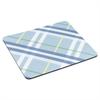 "3M Mouse Pad with Precise Mousing Surface, 9"" x 8"" x 1/5"", Plaid Design"