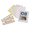 Array Card Stock, 65 lb., Letter, Assorted Parchment Colors, 100 Sheets/Pack