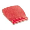 Fun Design Clear Gel Mouse Pad Wrist Rest, 6 4/5 x 8 3/5 x 3/4, Coral Design