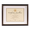 DAX Document Frame, Rosewood, 11 x 14, 8 1/2 x 11
