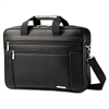 Classic Perfect Fit Laptop Case, 16 1/2 x 4 1/2 x 12, Nylon, Black