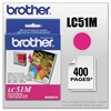 Brother LC51M Innobella Ink, Magenta
