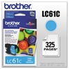 Brother LC61C Innobella Ink, Cyan