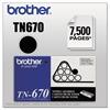 TN670 High-Yield Toner, Black