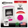 Remanufactured C9392AN (88XL) High-Yield Ink, Magenta