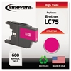 Innovera Remanufactured LC75M High-Yield Ink, Magenta