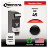 Remanufactured 51645A (45) Ink, Black