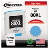 Remanufactured C9391AN (88XL) High-Yield Ink, Cyan