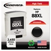 Remanufactured C9396AN (88XL) High-Yield Ink, Black