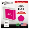 Innovera Remanufactured LC51M Ink, Magenta
