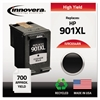 Remanufactured CC654AN (901XL) High-Yield Ink, Black