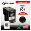 Innovera Remanufactured CC653AN (901) Ink, Black