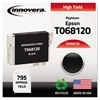 Innovera Remanufactured T068120 (68) High-Yield Ink, Black