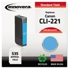 Innovera Remanufactured 2947B001 (CLI-221) Ink, Cyan