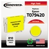 Innovera Remanufactured T079420 (79) High-Yield Ink, Yellow