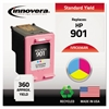 Innovera Remanufactured CC656AN (901) Ink, Tri-Color