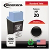 Innovera Remanufactured C6614DN (20) Ink, Black