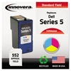 Innovera Remanufactured M4646 (Series 5) Ink, Tri-Color