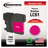Innovera Remanufactured LC61M Ink, Magenta