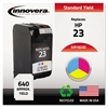 Innovera Remanufactured C1823D (23) Ink, Tri-Color
