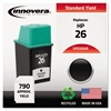 Remanufactured 51626A (26) Ink, Black