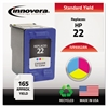 Innovera Remanufactured C9352AN (22) Ink, Tri-Color