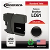 Innovera Remanufactured LC61BK Ink, Black