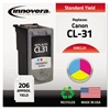 Innovera Remanufactured 1900B002 (CL-31) Ink, Tri-Color