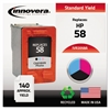 Innovera Remanufactured C6658AN (58) Ink, Photo