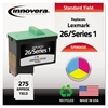 Remanufactured 10N0026 (26) Ink, Tri-Color