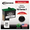 Remanufactured 10N0016 (16) Ink, Black