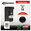Innovera Remanufactured C6615DN (15) Ink, Black