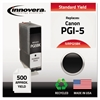 Remanufactured 0628B002 (PGI-5BK) Ink, Black