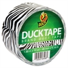 "Colored Duct Tape, 9 mil, 1.88"" x 10 yds, 3"" Core, Zebra"