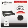 Innovera Remanufactured DR420 Drum Unit, Black