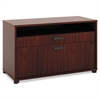 basyx Manage Series File Center, Laminate, 36w x 16d x 22h, Chestnut