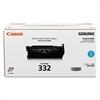 Canon 6262B012 (332) Toner, Cyan