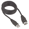 3.0 USB Extension Cable, AM/AF, 6 ft., Black