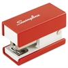 Mini Fashion Stapler, 12-Sheet Capacity, Red